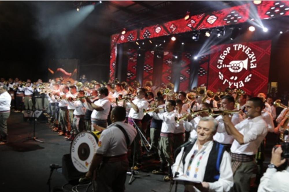 Pretakmičenja za festiival u Guči